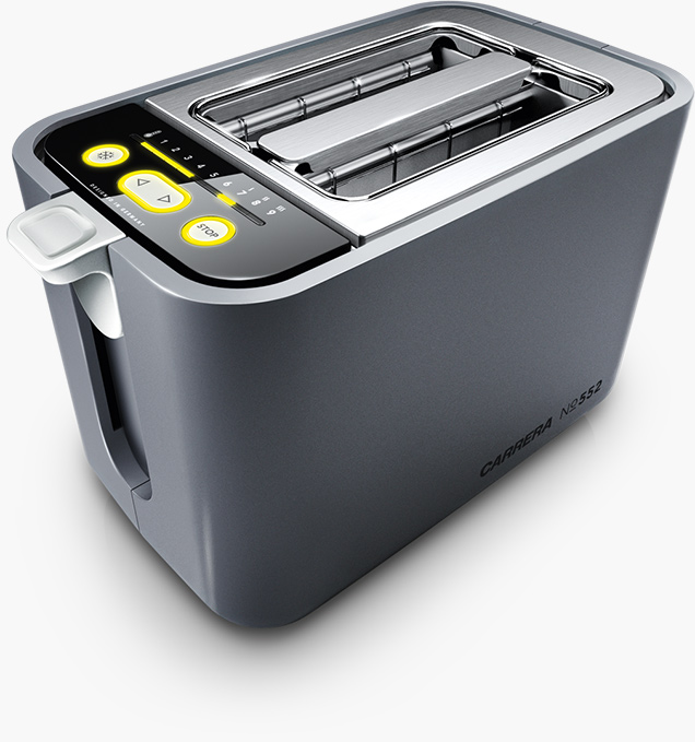 toaster no 552 mit quarz technologie carrera. Black Bedroom Furniture Sets. Home Design Ideas
