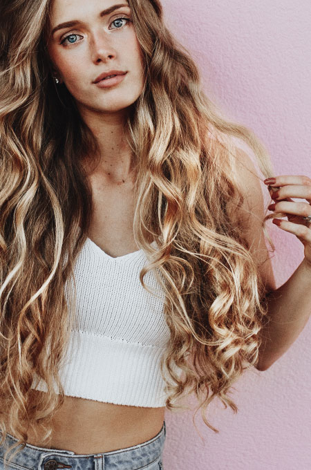 how to make curls